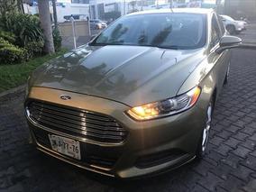 Ford Fusion 4p Se L4 Aut