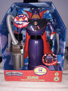 Toy Story Zurg Figura De Accion Disney Store C/ Frases
