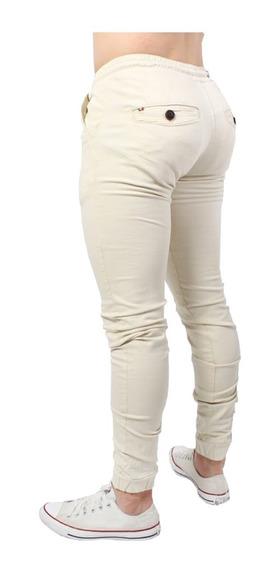 Pantalón Jogger Para Hombre Corte Slim De Moda