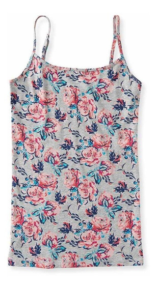 Musculosa Mujer Aeropostale Floral Talle Extra Large