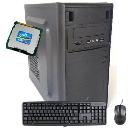 Cpu Pc I5 500gb Com Teclado Mouse Novo Garantia