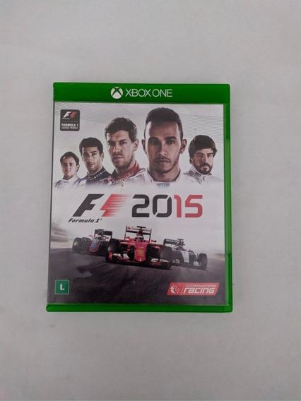 Jogo Fórmula 1 2015 Mídia Física Xbox One