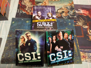 Csi Dvd Originales Las Primeras 2 Temporadas
