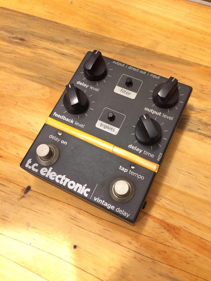 Pedal Tc Electronic Vintage Delay Com Tap/tempo
