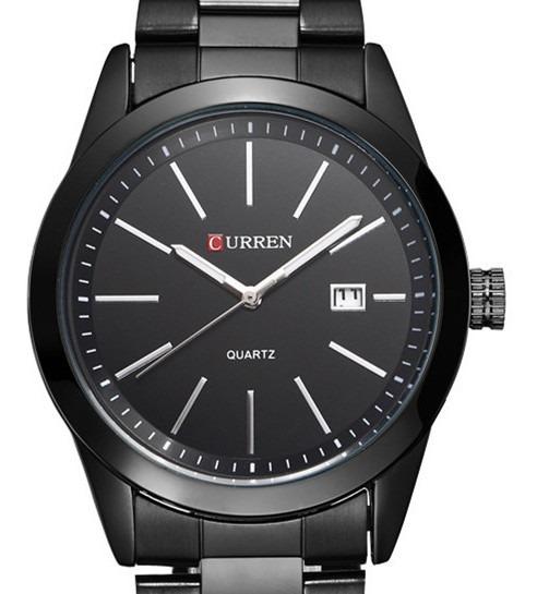 Relógio Masculino Curren 8091 Analógico Preto De Pulso