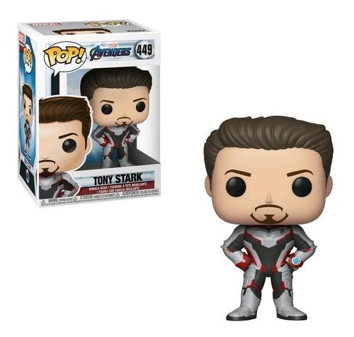 Funko Pop Marvel Avengers Endgame 449 Tony Stark En Stock
