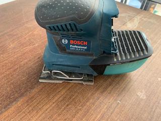 Lijadora Orbital Bosch Inalámbrica De Mano Gss 14,4 V