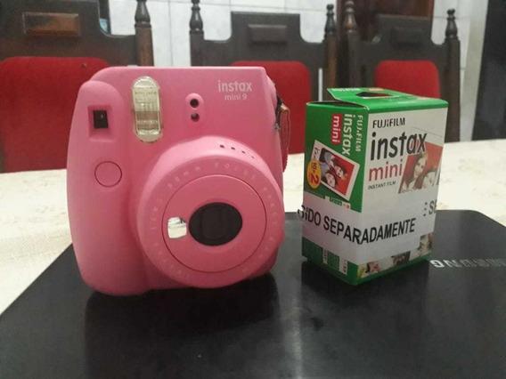 Câmera Instax Mini 9 (fotografía Tipo Polaroid)