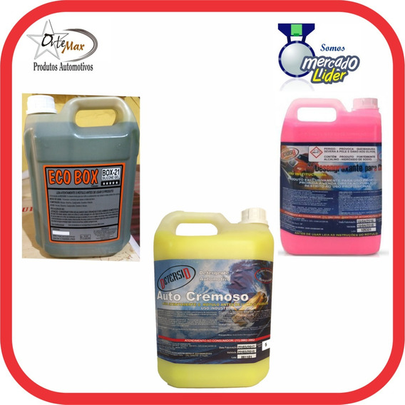 Eco Box Finalizador 05lts + 05lts Solupan + 05lts Shampoo