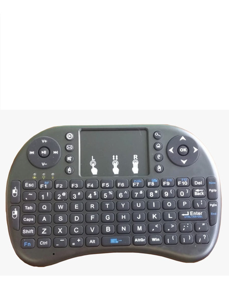 Mini Teclado Mouse Touch Sem Fio Tv Box Wireless Smart Tv Lg