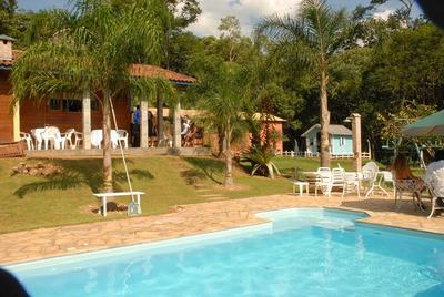 Sitio Para Alugar Em São Roque/araçariguama Com 03 Dorm.