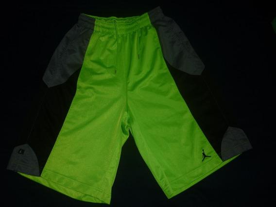 E Bermuda Basquet Nike Jordan Talle L Verde Nba Art 79051