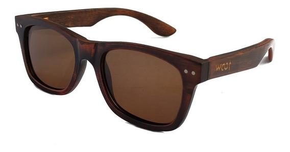 Gafas Anteojos Sol 100% Madera Woot8 - Vintage Bamboo 2