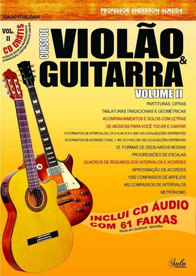 Curso De Violão & Guitarra - Cd E Livro Vol.2