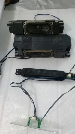 Botão Power Teclado + Brinde Falantes Tv 42ln5700