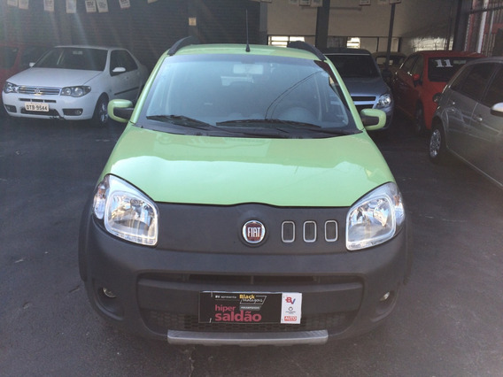 Fiat Uno 1.4 Way Flex 5p - Ano 2011
