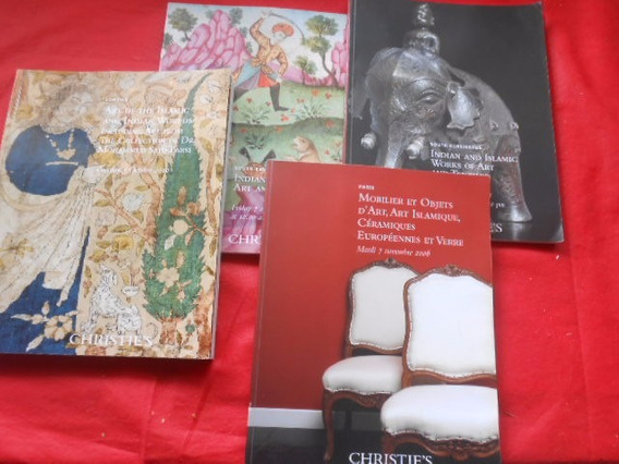 Arte Islâmica Índia Lote Com 4 Livros Catálogos Seminovos