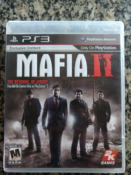 Mafia 2 Ps3 Midia Fisica .