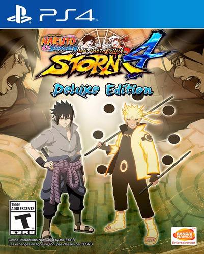 Imagen 1 de 1 de Naruto Ultimate Ninja Storm 4 Deluxe - Ps4 - Digital