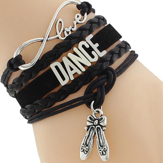 Pulseira Feminina Bailarina Dançarina Dança