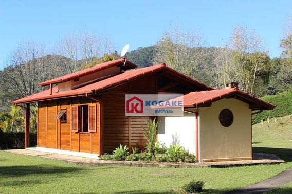 Chácara Com 2 Dormitórios À Venda, 3000 M² Por R$ 800.000,00 - Santa Cruz - Santo Antônio Do Pinhal/sp - Ch0053