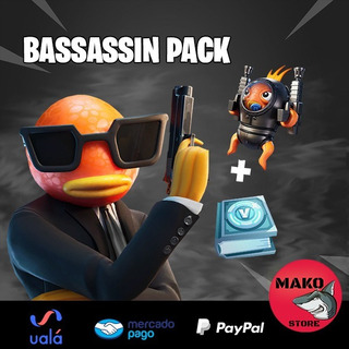 Bassassin Pack Fornite - Oferta !