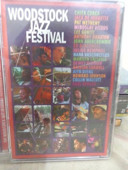 Dvd Woodstock Jazz Festival - Chick Corea Naná Vasconcelos