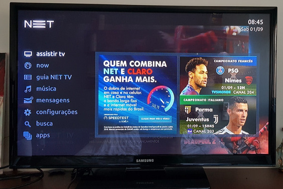 Tv Samsung 40 Plasma - Como Nova