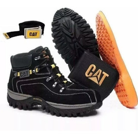 Bota Coturno Caterpillar Adventure Original Kit Brinde Gráti