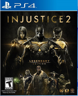 Injustice 2 Legendary Edition Ps4 Juego Nuevo Playstation 4