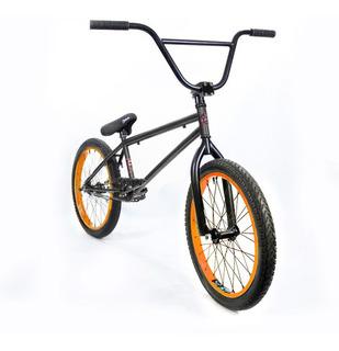 Bicicleta Bmx Fad - Liviana Y Resistente! Gris Y Naranja Pro