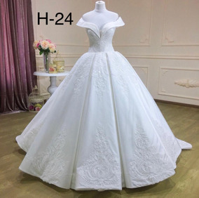 Vestido De Novia Blanco Brocato H24