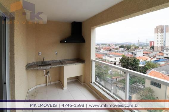 Apartamento Novo Com 3 Dormitórios Em Suzano/sp - 679