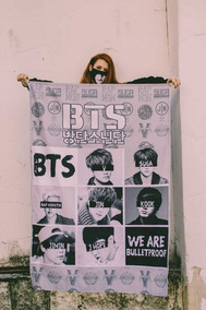 Bandeira Bts K-pop Army - Integrantes 2