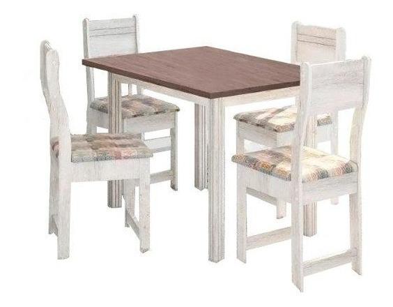 Jogo De Mesa +4 Cadeiras Indékes, Salinas Avalon E Alaska