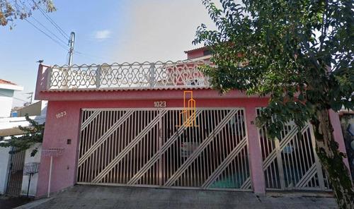 Sobrado Com 4 Dormitórios À Venda, 273 M² Por R$ 900.000,00 - Parque Novo Oratório - Santo André/sp - So0180