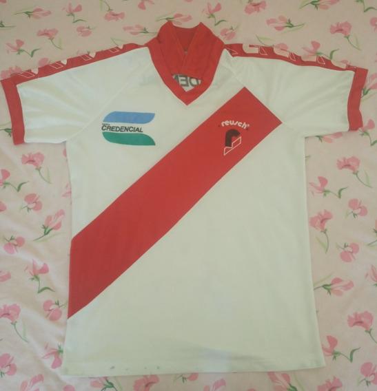Camiseta De River Plate Con Logo Carta Credencial Año 91.