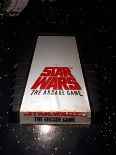 Juego Star Wars Arcade Game Vintage Atari 2600 Antiguo