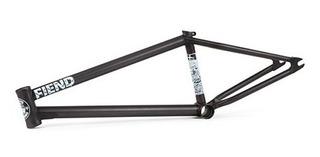 Bmx Cuadro Fiend Reynolds V2 20.50 Flat Trans Black Purobmx
