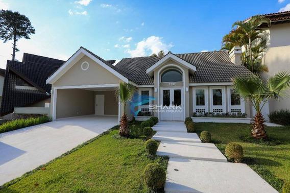 Casa Com 5 Dormitórios À Venda, 380 M² Por R$ 2.400.000 - Residencial Dez (alphaville) - Santana De Parnaíba/sp - Ca0053