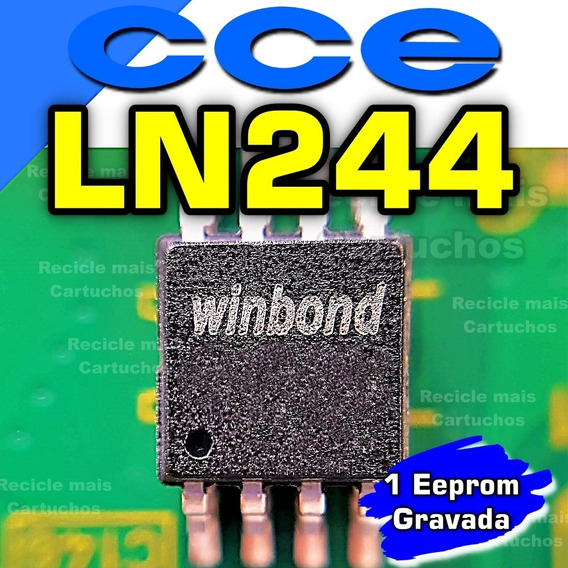 Memoria Flash Ci Tv Cce Ln244 Chip Gravado Eprom Original