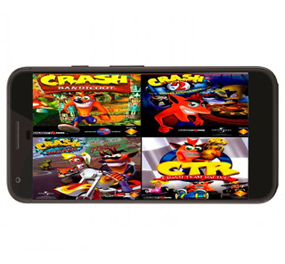 Coleccion Crash Bandicoot Ps1 En Español Para Android (: