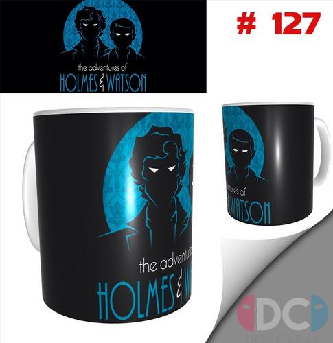 Taza Sherlock Holmes Series De Tv # 127