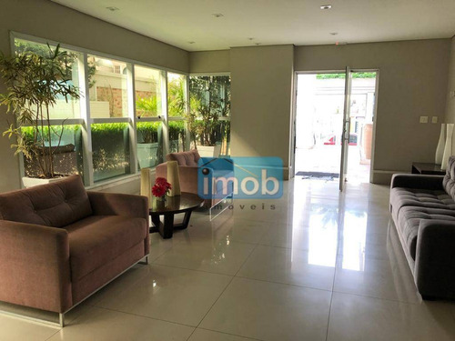 Imagem 1 de 30 de Apartamento Com 3 Dormitórios À Venda, 150 M² Por R$ 1.180.000,00 - Ponta Da Praia - Santos/sp - Ap7999