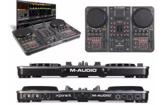 Seminovos: Controladora M-audio Xponent + Par Caixas Acustic