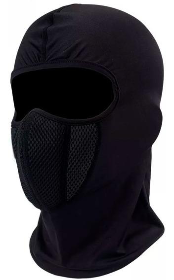 Mascara Balaclava Tactica Filtro Anti Polucion Negro D1144