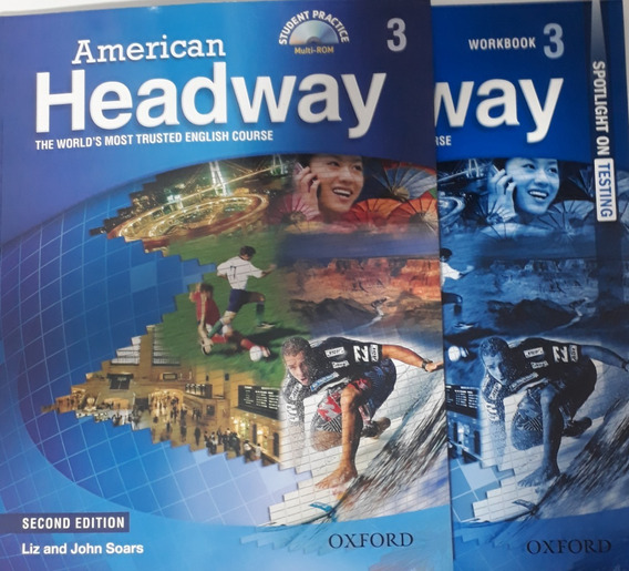 American Headway 3 Student + Workbook - 2nd Edition