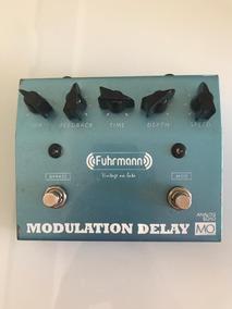 Pedal Fuhrmann Delay Modulation Mo Guitarra Violão Baixo