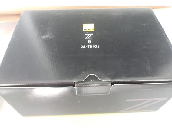 Kit Nikon Z6 + Lente 24 70 F4