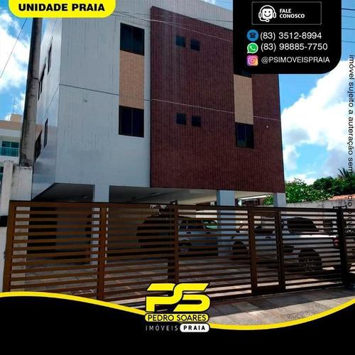 Apartamento Com 2 Dormitórios À Venda, 54 M² Por R$ 130.000 - Ernesto Geisel - João Pessoa/pb - Ap4419